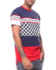 T-Shirts - CHECKER COLORBLOCK TEE-2243855