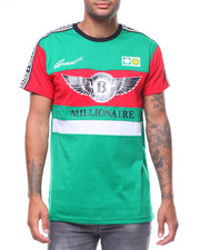 Shirts - MILLIONARE BENZO COLORBLOCK TEE-2243841