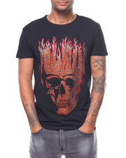 Shirts - JEWEL SKULL TEE-2243926