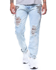 Men - Distressed Jean w Stud Details-2244072
