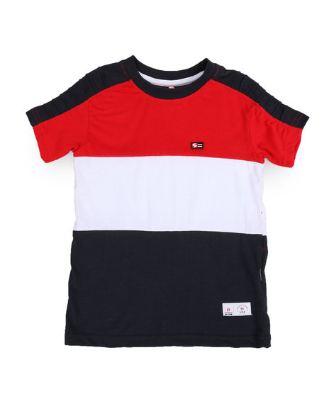 Color Block Tee (4 7) by Southpole