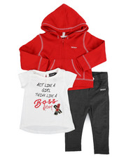 Infant & Newborn - 3 Piece Act Like A Girl Set (Infant)-2243408