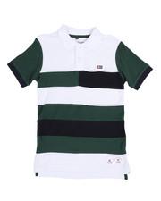Tops - Cut & Sewn Stripe Polo (8-20)-2244255