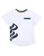 Tops - Rocawear Tee w/Zipper (4-7)-2243751