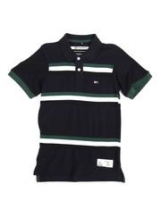 Polos - Stripe Taped Polo (8-20)-2244240