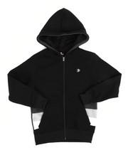 Hoodies - Color Block Fleece Full Zip Hoodie (8-20)-2244470