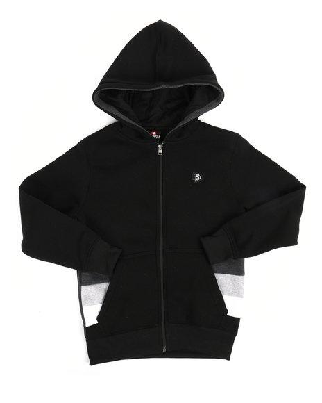 Southpole - Color Block Fleece Full Zip Hoodie (8-20)