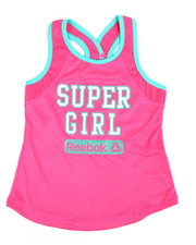 Tops - Super Girl Tank Top (7-16) -2244154