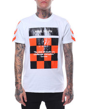 Men - REBEL YOUTH CHECKER TEE-2245094