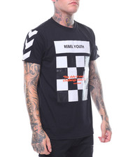 Men - REBEL YOUTH CHECKER TEE-2245100