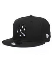 New Era - 9Fifty New York Yankees Tilted Lines Snapback Hat-2244640
