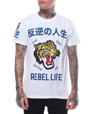 Men - REBEL LIFE TEE-2245129