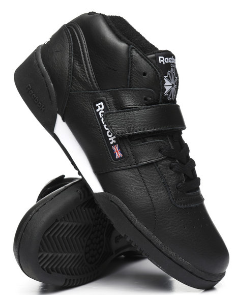 288e5880b38 Buy Workout Clean Mid Strap MU Sneakers Men s Footwear from Reebok ...