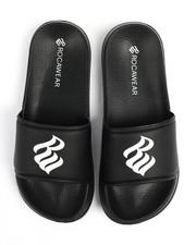 Sandals - Rocawear Logo Slides-2243791