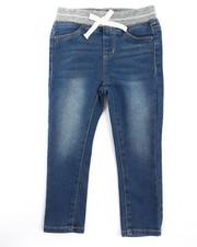 Bottoms - Rib Knit Waistband Jegging (2T-4T)-2238477