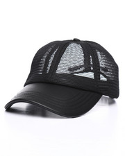 Dad Hats - Mesh Textured Snapback Hat-2244488