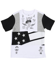 Born Fly - Chopped And Pieced Tee (4-7)-2244651