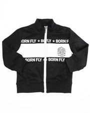 Born Fly - Poly Interlock Track Jacket (2T-4T)-2244607
