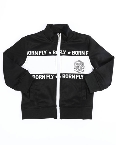 Born Fly - Poly Interlock Track Jacket (2T-4T)