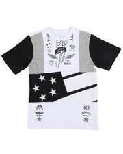 Born Fly - Chopped And Pieced Tee (8-20)-2244646