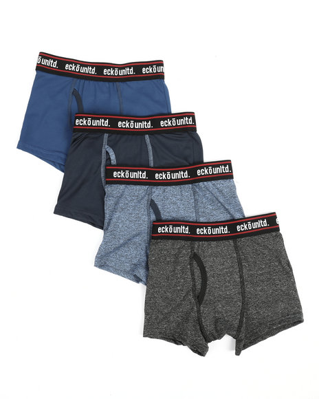 Ecko - 4 Pack Boxer Briefs (8-20)