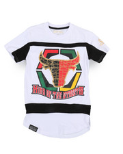 SWITCH - Bull Color Block Tee w/HD Foil Print (8-20)-2244675