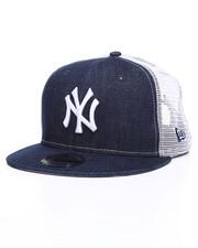 Hats - 9Fifty New York Yankees Denim Trucker Snapback Hat-2244639