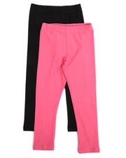 Sizes 4-6x - Kids - 2 Pack Solid Leggings (4-6X)-2245473