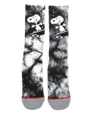 HUF - Peanuts Snoopy Skates Crew Socks-2245528
