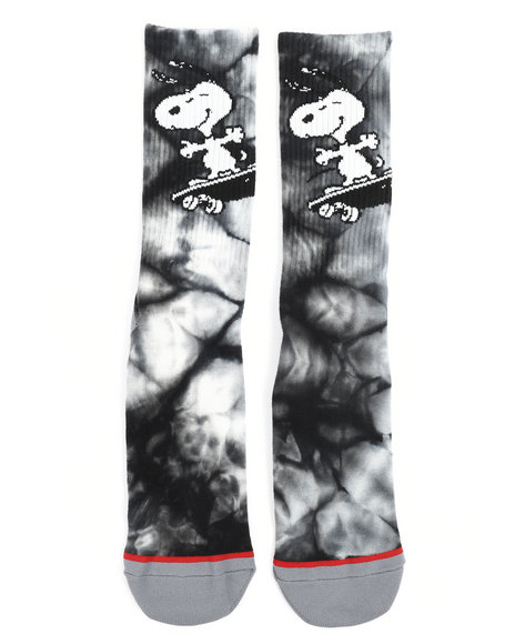 4166847779 Buy Peanuts Snoopy Skates Crew Socks Men s Accessories from HUF ...