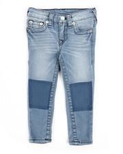 Bottoms - Single End Denim Jeans (2T-4T)-2245336