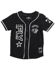 Tops - Cotton Baseball Jersey (4-7)-2244582