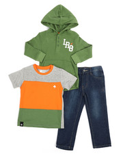 Sizes 2T-4T - Toddler - 3 Piece LRG Monogram Set (2T-4T)-2244632