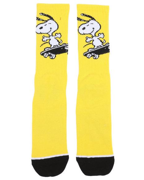 642b21ec195 Buy Peanuts Snoopy Skates Crew Socks Men s Accessories from HUF ...