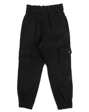 Bottoms - Stretch Cargo Twill Joggers (4-7)-2245468