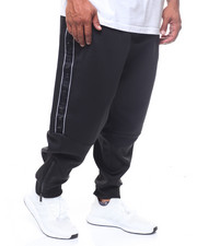 Sean John - Logo Taping Neoprene Track Pants (B&T)-2244137
