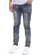 Buyers Picks - Embossed Articulated Moto Jean- Skinny Fit-2246275