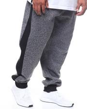 Sweatpants - Marled Fleece Pant/Side Panel (B&T)-2245920
