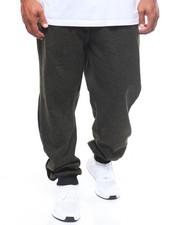 Sweatpants - Marled Fleece Pant/Side Panel (B&T)-2245925