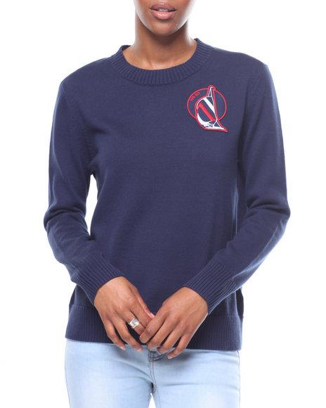 Nautica - L/S Nautica Left Chest Sweater