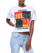 Cross Colours - 1991 Logo Crop T-shirt-2233781