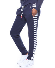 Sweatpants - Sueded Fleece Stripe Sd Pant-2246779