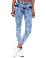Women - Destructed Washed Skinny Jean-2246527