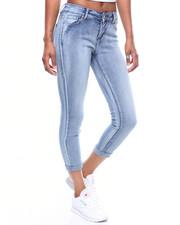 Fashion Lab - 5 Pocket Roll Cuff Skinny Jean-2246536