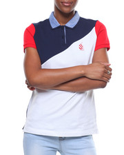 Nautica - Color Block Pique Polo/Bk Hit-2246486