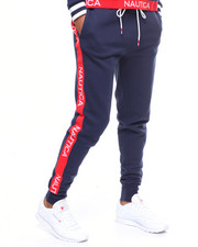 Sweatpants - Sueded Fleece Taped Side Pant-2246714
