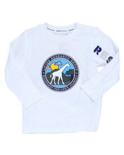 Boys - Giraffe Line Long Sleeve Tee (Infant)-2246055