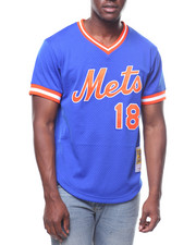 Mitchell & Ness - NEW YORK METS  Authentic BP Jersey - Darryl Strawberry #18-2247354