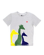 Sizes 8-20 - Big Kids - Giraffe Riser Tee (8-20)-2246018