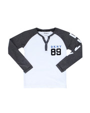 Boys - Long Sleeve Color Block Henley (4-7)-2246288
